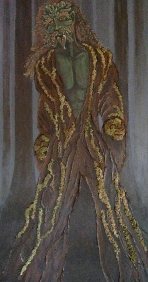 Rowan as Green Man
