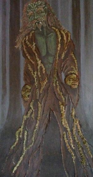 Rowan as Green Man